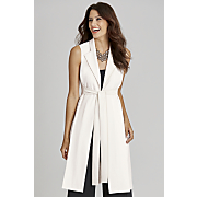 5th ave sleeveless duster
