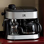 kalorik combi espresso   coffeemaker