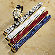 animal print watch set