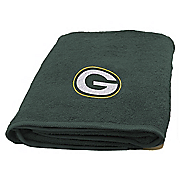 nfl applique bath towel