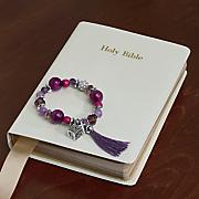 prayer box tassel bracelet