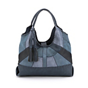 merlot patchwork hobo bag by steven