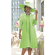 leticia hat and jacket dress