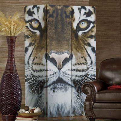 Reversible Animal Print Screen