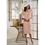 Diahann Fascinator and Jacket Dress