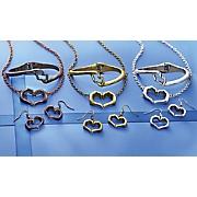 hands heart jewelry