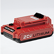 1 5 ah 20 volt rechargeable battery by porter cable