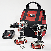 li ion 2 tool combo by porter cable