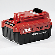 4 0 ah 20 volt rechargeable battery by porter cable