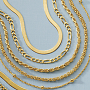 gold over sterling silver 20  byzantine necklace