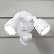 led motion activated security light by first alert