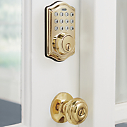 electronic deadbolt by honeywell