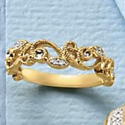 diamond floral band