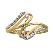 diamond 2 swirl ring