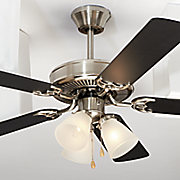 3 light 52  oil rubbed bronze oak finish ceiling fan by design house