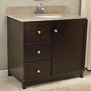 Espresso Shorewood Bathroom Vanity Collection