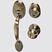 entry door handset by honeywell