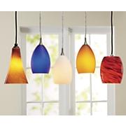art glass pendant lights by design house
