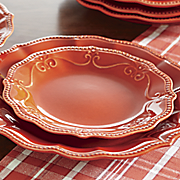12-Piece Red Dinnerware Set by The Pioneer Woman