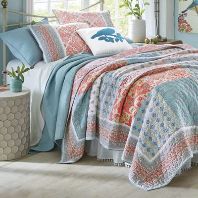 Indian Sunrise Quilt and Sham by Jessica Simpson
