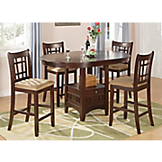 Lavon Table with Leaf and Set of 2 Lavon Country Stools