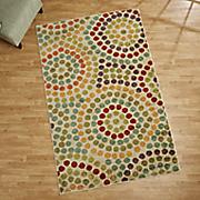 mosaic stone rug