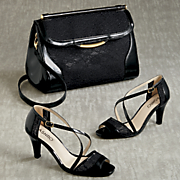 dionne lace bag and sandal