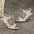 Kendra Peep-Toe Sandal