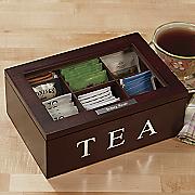 personalized tea box