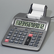 2 color printing calculator by casio