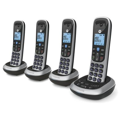 Cordless Phone Sets with Digital Answering System by Motorola