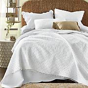 pom pom oversized quilt