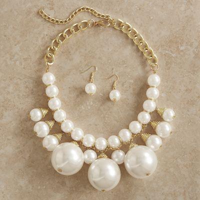 Pebbie Jewelry Set