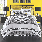 ishtar comforter set  accent pillow and panel pair