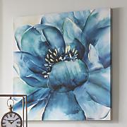 Blue Flower Close-Up Art