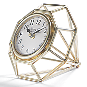 diamond table clock