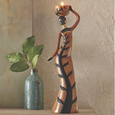 Amaka Tealight Figurine
