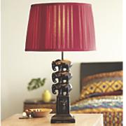 3 elephants table lamp