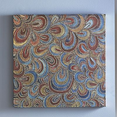 Colorful Beaded Canvas