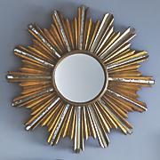 sparkle wall mirror
