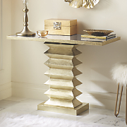 accordion console table