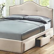 dakota 3 drawer queen storage bed