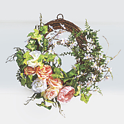 peony wreath