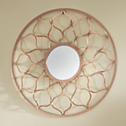 Rose Gold Moroccan Mirror
