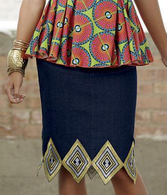 Emory Denim Skirt