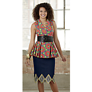 Lashawn Top and Emory Denim Skirt