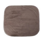 brown velour chair pad   20  x 18