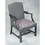 tapestry seat pad   20  x 18