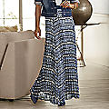 Aubrina Pleated Maxi Skirt