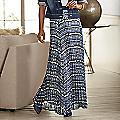Aubrina Pleated Maxi Skirt